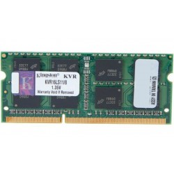 Kingston SO-DIMM DDR3 8GB PC12800 Single Channel Memory