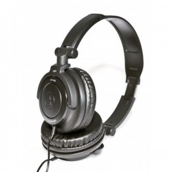 Audio Technica ATH SJ33 , DJ Style Headset Black