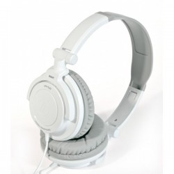 Audio Technica ATH SJ33 , DJ Style Headset White