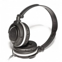 Audio Technica ATH SJ55 , DJ Style Headset Black