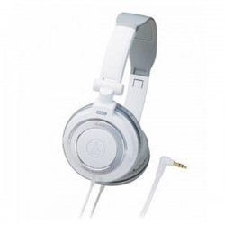 Audio Technica ATH SJ55 , DJ Style Headset White