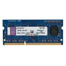 Kingston SO-DIMM DDR3 4GB PC12800 Single Channel Low Voltage Memory