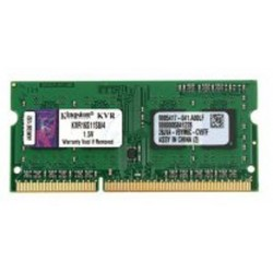Kingston SO-DIMM DDR3 4GB PC12800 Single Channel Memory