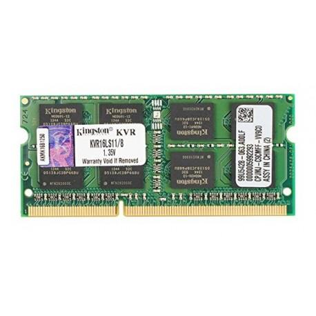 Kingston DDR3 8GB PC12800 Single Channel Memory