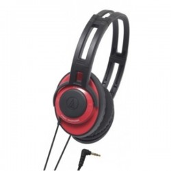 Audio Technica ATH XS55, Xstreet Headsets Red