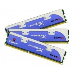 Kingston Hyper X Blu DDR3 PC12800 6GB - KHX1600C9D3K3/6GX (Triple Channel Kit 2GB x 3) Memory