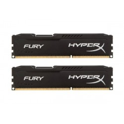 Kingston Hyper X Fury DDR3 PC15000 16GB - HX318C10FK2/16 (Dual Channel Kit 8GB x 2) (Blue Heatspreader) Memory