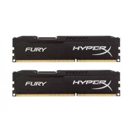 Kingston Hyper X Fury DDR3 PC15000 16GB - HX318C10FK2/16 (Dual Channel Kit 8GB x 2) (Blue Heatspreader) Memory
