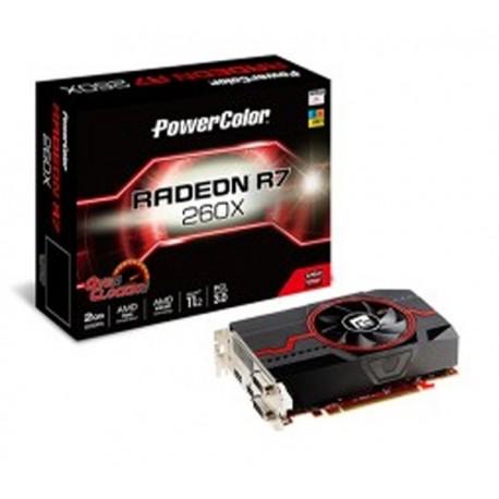 Power Color Radeon R7 260 TURBO OC 2GB DDR5 128 Bit VGA