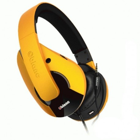 Oblanc NC3-2 SHELL 2.1 PROFESIONAL Headset YELLOW