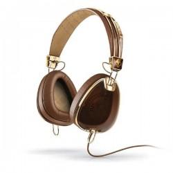 SkullCandy S6AVFM-157 AVIATOR OVER-EAR W/MIC 3 BROWN/GOLD Headset