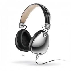 SkullCandy S6AVDM-016 AVIATOR OVER-EAR W/MIC 3 Black/Chrome Headset