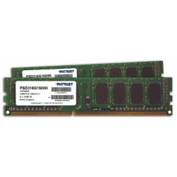 Patriot DDR3 Signature Line Series PC12800 2GB - PSD3 2G 1600 H Memory