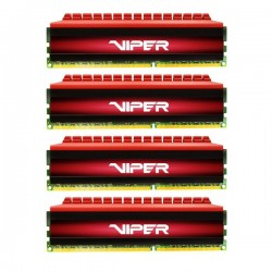 Patriot DDR3 Viper 4 Series Quad Channel PC22400 32GB CL10 - PX4 32G 280 C6QK Memory