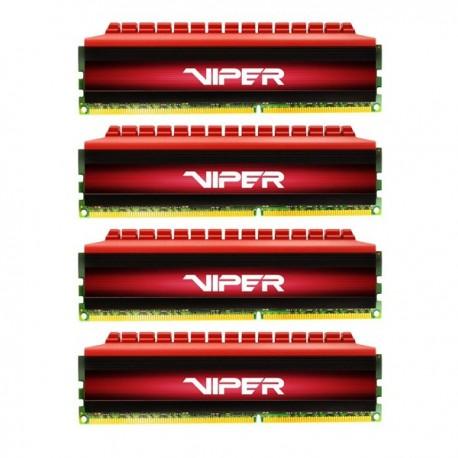Patriot DDR3 Viper 4 Series Quad Channel PC22400 32GB CL10 - PX4 32G 280 C6QK Memory