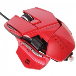 Mad Catz R.A.T.5 Mouse - Red