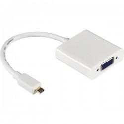 Netline Micro HDMI to VGA Converter