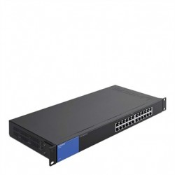 Linksys LGS124 24-Port Rackmount Business Gigabit Switch (LGS124-AP)