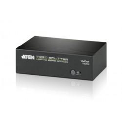 ATEN VS0102 2-Port VGA Splitter with Audio