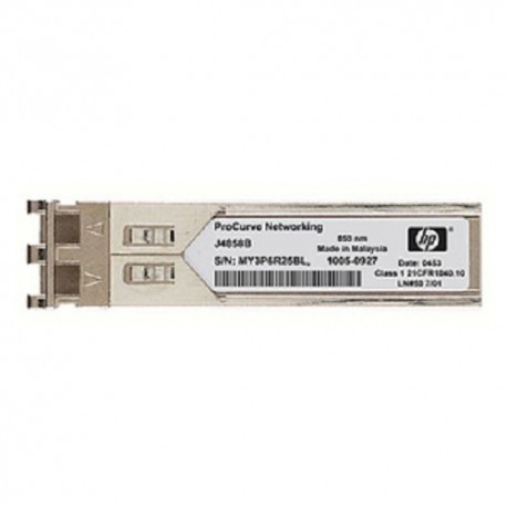 HP X121 1G SFP LC SX Module 1G Fiber Optic Multimode J4858C