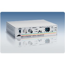 Allied Telesis AT-MC13 10Mbps UTP RJ45 to 10Mbps Multi-Mode Fiber ST Ethernet