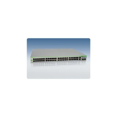 Allied Telesis AT-FS750/48 WeB-smart Switch 48 Port 10 100 2 Gigabit SFP