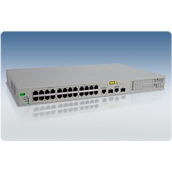 Allied Telesis AT-FS750/24POE WeB-smart Switch 24 Port 10/100 2 Gigabit SFP POE