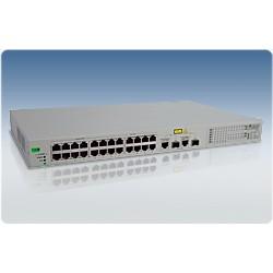 Allied Telesis AT-FS750/24POE WeB-smart Switch 24 Port 10/100 2 Gigabit SFP POE