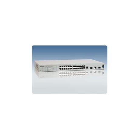 Allied Telesis AT-FS750/24 WeB-smart Switch 24 Port 10/100 2 Gigabit SFP