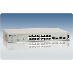 Allied Telesis AT-FS750/16 WeB-smart Switch 16 Port 10/100 2 Gigabit SFP