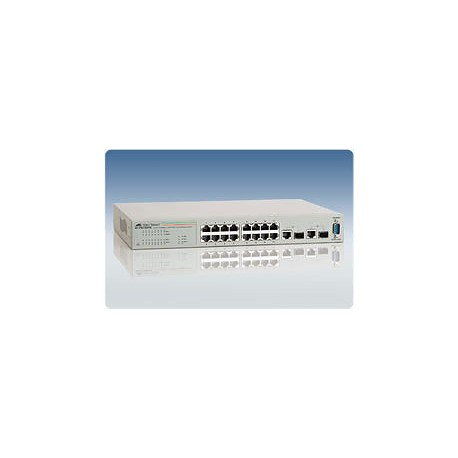 Allied Telesis AT-FS750/16 WeB-smart Switch 16 Port 10/100 2 Gigabit SFP