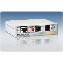 Allied Telesis AT-MC605 VDSL Converter 1 RJ45 1 RJ11 Up To 60 100 Mps