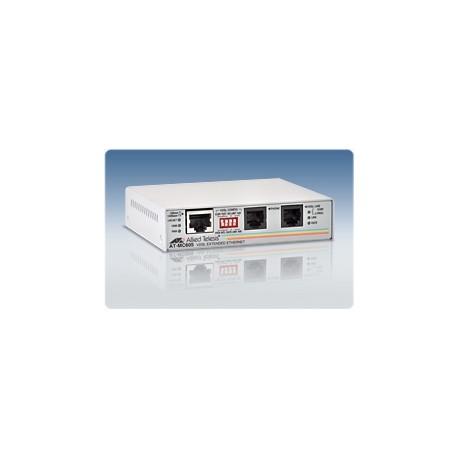 Allied Telesis AT-MC605 VDSL Converter 1 RJ45 1 RJ11 Up To 60 100 Mps