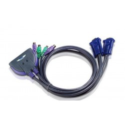 Aten CS62Z 2-Port PS/2 KVM Switch