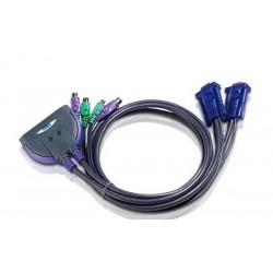 Aten CS62Z 2-Port PS/2 KVM Switch