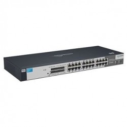 HP V1700-24 Web-smart Switch with 22x10 100 ports and 2 dual SFP ports J9080A