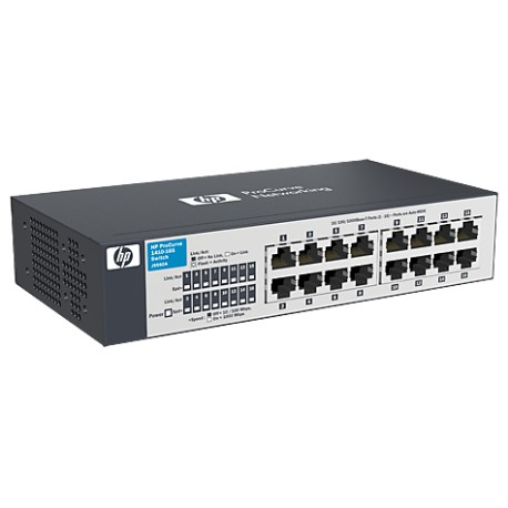 HP V1410-16G Gigabit Unmanaged Switch with 16x10 100 1000 ports J9560A