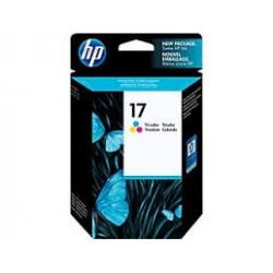 HP 17a Tri-color Original Ink Cartridge