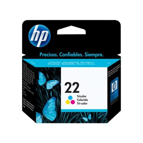 HP 22A Original Ink Cartridge
