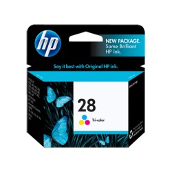 HP 28 Tri-color Original Ink Cartridge (C8728AN)