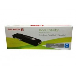 Toner Cartridge Fuji Xerox Docuprint CM405df CP405d Cyan (CT202034)