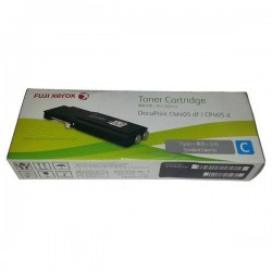 Toner Cartridge Fuji Xerox Docuprint CM405df CP405d Cyan (CT202019)