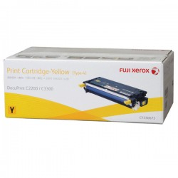 Toner Cartridge Fuji Xerox Docuprint C2200 C3300DX Yellow 6K (CT350673)