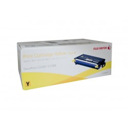 Toner Cartridge Fuji Xerox Docuprint C2200 C3300DX Yellow 9K (CT350677)