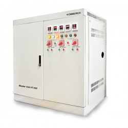 Emmerich Master Volt HT Stabilizer 300 kVA 3 Phase 1350x1000x1850mm 1020Kg