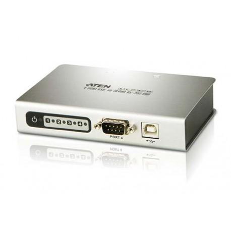 ATEN UC23244-Port USB-to -Serial RS-232 Hub