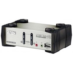 ATEN CS1732B 2-Port USB 2.0 KVMP™ Switch with OSD