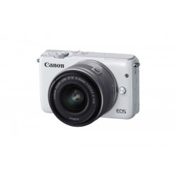 Canon EOS M10 EF-M 15-45mm f/3.5-6.3 IS STM Kit White