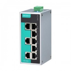 Moxa EDS-208A 8-port unmanaged Ethernet switches