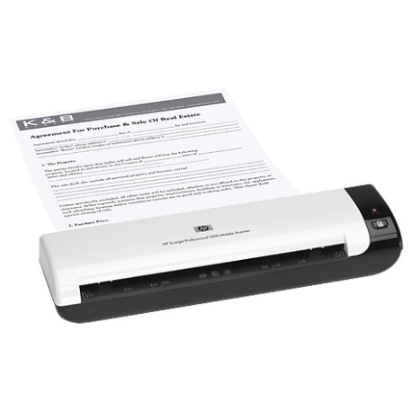 HP Scanjet Professional 1000 Mobile Scanner (L2722A)